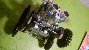 нижняя сторона робота dolley