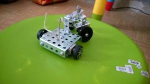 шасси робота прямой привод