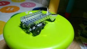шасси робота редуктор из двух шестеренок